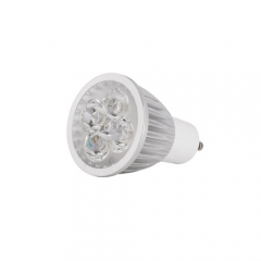 Ranpo Sliver Housing Dimmable GU10 12W Red Green Blue Yellow Purple Color AC  110V 220V