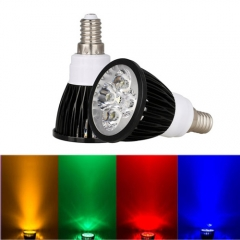 Ranpo E14 12W LED Spotlight Red Yellow Blue Green Lighting AC 85-265V