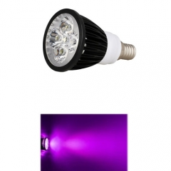 Ranpo E14 12W LED Spotlight Purple Lighting AC 85-265V