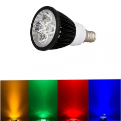 Ranpo Dimmable E14 12W LED Spotlight Red Yellow Blue Green Lighting AC 220V