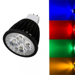 Ranpo GU5.3 12W LED Spotlight Red Yellow Blue Green Lighting AC 85-265V