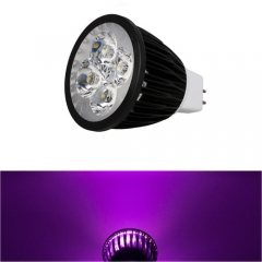Ranpo Dimmable MR16 12W LED Spotlight Purple  Lighting  DC 12V