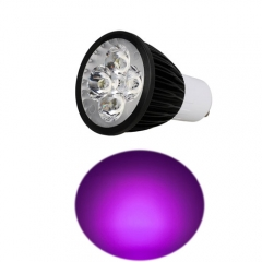 Ranpo GU10 12W LED Spotlight Purple Lighting AC 85-265V
