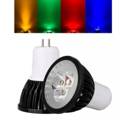Ranpo GU5.3 9W LED Spotlight Red Yellow Blue Green Lighting AC 85-265V