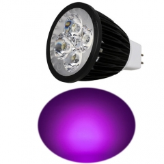 Ranpo MR16 12W LED Spotlight Purple Lighting  DC 12V