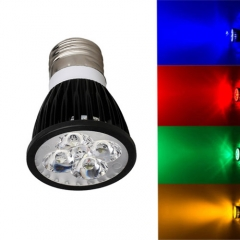 Ranpo Dimmable E27 12W LED Spotlight Red Yellow Blue Green Lighting AC  110V  220V