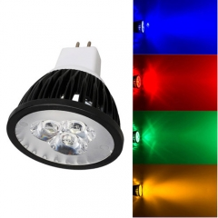Ranpo Dimmable MR16 9W LED Spotlight Red Yellow Blue Green Lighting  DC 12V