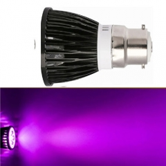 Ranpo  B22 9W LED Spotlight Purple Lighting AC 85-265V