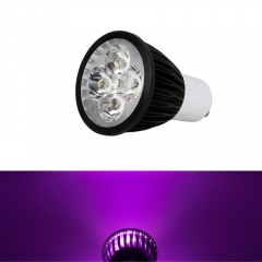 Ranpo Dimmable GU10 12W LED Spotlight Purple Lighting AC 110V 220V