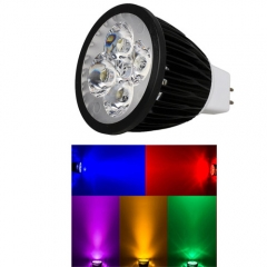 Ranpo Dimmable MR16 12W LED Spotlight Red Yellow Blue Green Lighting  DC 12V