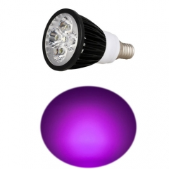 Ranpo Dimmable E14 12W LED Spotlight Purple Lighting AC 220V