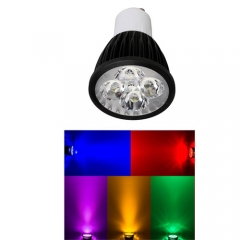Ranpo Dimmable GU10 12W LED Spotlight Red Yellow Blue Green Lighting AC 110V 220V