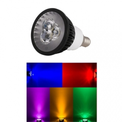 Ranpo E12 9W LED Spotlight Red Yellow Blue Green Purple Lighting AC 110V