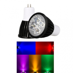 Ranpo  GU5.3 15W LED Spotlight Red Yellow Blue Green Purple Lighting AC 85-265V