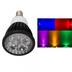 Ranpo Dimmable E12 12W LED Spotlight Red Yellow Blue Green Purple Lighting AC 110V