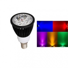 Ranpo E14 15W LED Spotlight Red Yellow Blue Green Purple Lighting AC  85-265