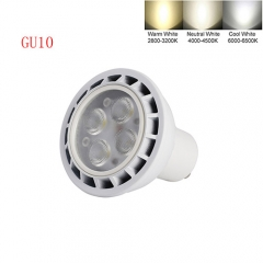 Ranpo Dimmable GU10 9W LED Spot Light 3030 SMD Cool Warm Neutral White AC 110V 220V