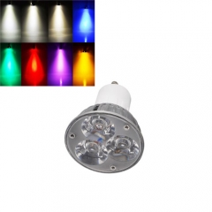 Ranpo Dimmable GU10 6W LED Spotlight Cool/Neutral/Warm White Red Blue Yellow Purple AC 220V