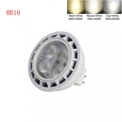 Ranpo Dimmable MR16 9W LED Spot Light 3030 SMD Cool Warm Neutral White DC 12V