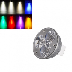 Ranpo MR16 6W LED Spotlight Cool/Neutral/Warm White Red Blue Yellow Purple DC 12V