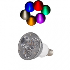 Ranpo E14 6W LED Spotlight Cool/Neutral/Warm White Red Blue Yellow Purple AC 85-265V