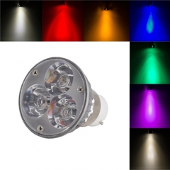 Ranpo Dimmable B22 6W LED Spotlight Cool/Neutral/Warm White Red Blue Yellow Purple AC 220V