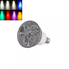 Ranpo E12 6W LED Spotlight Cool/Neutral/Warm White Red Blue Yellow Purple AC 85-265V