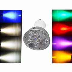 Ranpo GU10 6W LED Spotlight Cool/Neutral/Warm White Red Blue Yellow Purple AC 85-265V