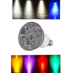 Ranpo Dimmable E12 6W LED Spotlight Cool/Neutral/Warm White Red Blue Yellow Purple AC 110V