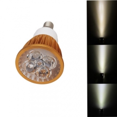 Ranpo Golden Color Dimmable E12 12W LED Spotlight Warm Cold Natural White  AC 110V