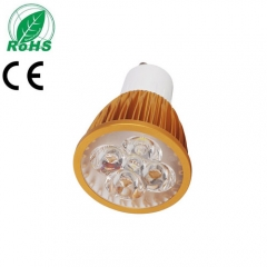 Ranpo Golden Color Dimmable  GU10 15W LED Spotlight Warm Cold Natural White  110V/220V