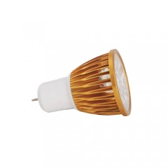 Ranpo Golden Color Dimmable  GU5.3 15W LED Spotlight Warm Cold Natural White AC  110V 220V