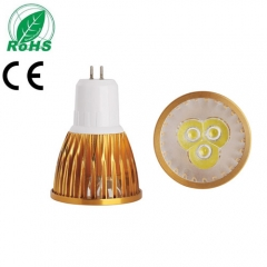 Ranpo Golden Color GU5.3 9W LED Spotlight Warm Cold Natural White AC 85-265V