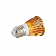 Ranpo Golden Color Dimmable E27 15W LED Spotlight Warm Cold Natural White 110V/220V