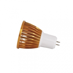 Ranpo Golden Color Dimmable GU5.3 9W LED Spotlight Warm Cold Natural White AC 110V/220V