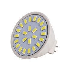 Dimmable RANPO MR16 LED Spotlight 4W Bulb 5730 SMD AC 110V/220V Warm/Neutral/Cool White 24 LEDs