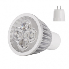 RANPO Dimmable GU5.3 12W Spotlight Downlight Bulb Lighting,60W Equivalent),Warm White 2800K,Cool White 4600K, 110V/220V