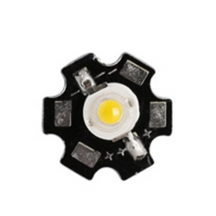 RANPO 10 pcs/lots 1W LED Chip With PCB Cool White/Warm White/Natural White/Red/Yellow/Blue/Green/Purple High Power Bead Lamp