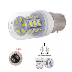 Ranpo B22D-3 5W LED Corn Light Bulb 24 LEDs 5730 SMD Warm/Natural/Cool White AC 110V 220V