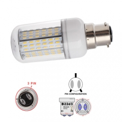 RANPO White B22D-3 30W AC 110V 220V LED Corn Bulb 4014 SMD 138LEDs Cool Warm White