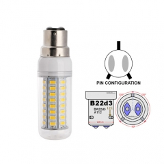 Ranpo B22D-3 14W LED Corn Light Bulb 64 LEDs 5730 SMD Warm/Natural/Cool White AC 85-265V