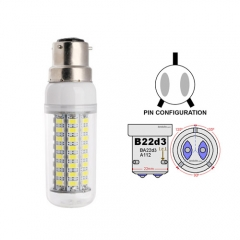 Ranpo B22D-3 18W LED Corn Light Bulb 72 LEDs 5730 SMD Warm/Natural/Cool White AC 110V 220V