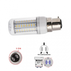 RANPO White B22D-3 22W AC 110V 220V LED Corn Bulb 4014 SMD 96LEDs Cool Warm White