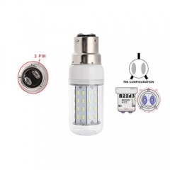RANPO White B22D-3 12W AC 110V 220V LED Corn Bulb 4014 SMD 56 LEDs Cool Warm White