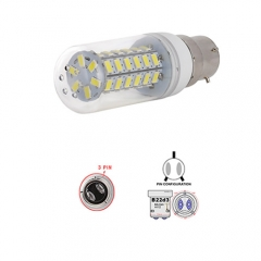 Ranpo B22D-3 9W LED Corn Light Bulb 48 LEDs 5730 SMD Warm/Natural/Cool White AC 110V 220V