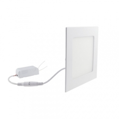 Ranpo Dimmable LED Panel Light Square 12W Warm Cool White Downlight with LED Driver AC 110V / 220V
