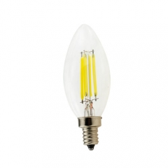 RANPO Dimmable E12 6W 110V LED Candelabra Bulb, Warm/Cool White ,40W Equivalent