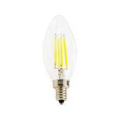 RANPO Dimmable E12 4W 110V LED Candelabra Bulb, Warm/Cool White ,40W Equivalent