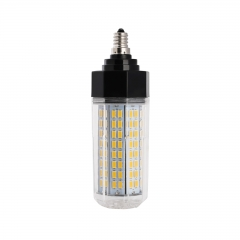 Ranpo Dimmable Polygon E12 144 Leds 38W 5730 SMD LED Corn Bulb AC 110V Warm Cool Neutral  White