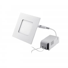 Ranpo Dimmable LED Panel Light Square 3W Warm Cool White Downlight with LED Driver AC 110V 220V